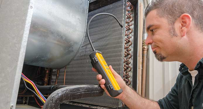 Coil cleaning HVAC Philly